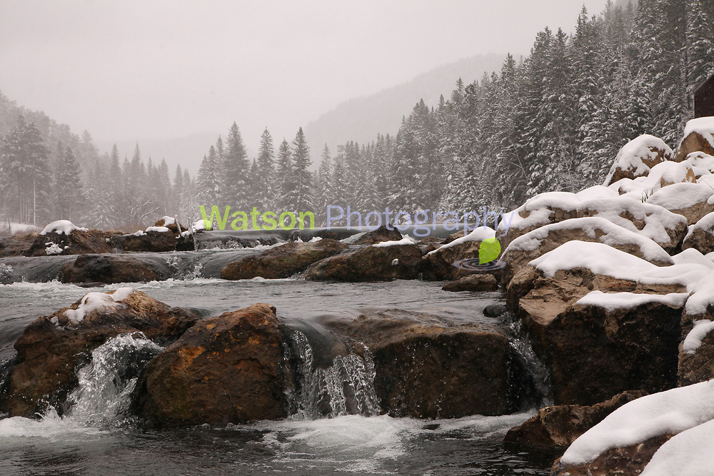 Spearfish Canyon Winter Scapes