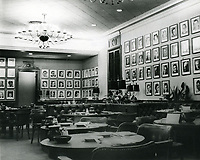 1961 Interior of The Brown Derby
