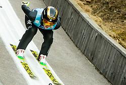 Lara Malsnier of Italy competes during Team Competition at Day 2 of World Cup Ski Jumping Ladies Ljubno 2019, on February 9, 2019 in Ljubno ob Savinji, Slovenia. Photo by Matic Ritonja / Sportida