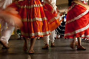 Guelaguetza is a Oaxacan dance tradition that has a histoy dating back to pre hispanic times. There is an annual festival though Guelaguetza dance can be seen throughout the year.