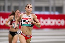 New Balance Indoor Grand Prix<br /> Staten Island, New York, February 13, 2021<br /> womens 2 mile, New Balance, Canada