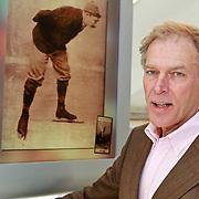 NLD/Amsterdam/20110221 - Boekpresentatie De Sportcanon, schaatser Ard Schenk