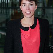 NLD/Hilversum/20121003- Boekpresentatie De Iconen van het NOS Achtuurjournaal, Liesbeth Staats