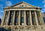 A view of the south western facade of the Pergamonmuseum on Museum Island in Berlin, Germany, April 08, 2012.