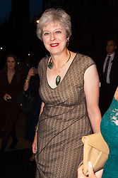 Prime Minister Theresa May arrives at the Daily Mail Health Heroes Awards at the Marriot Grosvenor Square in Mayfair, London. London, September 10 2018.