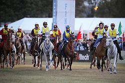 Start of the endurance race<br /> Alltech FEI World Equestrian Games <br /> Lexington - Kentucky 2010<br /> © Hippo Foto - Dirk Caremans