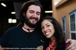 Victoria Joy and Blake Hudson at the Run to Raton. Raton, NM. USA. Saturday July 21, 2018. Photography ©2018 Michael Lichter.
