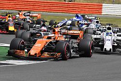 July 16, 2017 - Silverstone, Great Britain - Motorsports: FIA Formula One World Championship 2017, Grand Prix of Great Britain, .#2 Stoffel Vandoorne (BEL, McLaren Honda) (Credit Image: © Hoch Zwei via ZUMA Wire)