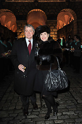 STEPHEN & KIMBERLEY QUINN at Skate presented by Tiffany & Co at Somerset House, London on 22nd November 2010.
