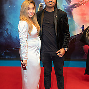 NLD/Amsterdam/20191218 - Premiere van Star Wars: The Rise of Skywalker, Dj Michael Mendoza en .............