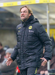 19.02.2011, Signal Iduna Park, Dortmund, GER, 1.FBL,  Borussia Dortmund vs FC St. Pauli, im Bild Dortmunds Trainer Jürgen / Juergen Klopp (GER) brüllt, EXPA Pictures © 2011, PhotoCredit: EXPA/ nph/  Scholz       ****** out of GER / SWE / CRO  / BEL ******
