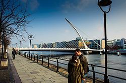 Samuel Beckett Bridge, Dublin<br /> <br /> (c) Andrew Wilson   Edinburgh Elite media
