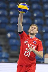 Valentin Golubev during the European Championship game Russia - Slovenia on August 26, 2017 in Krakow, Poland. (Photo by Krzysztof Porebski / Press Focus)