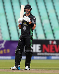 Kevin Pietersen of Hollywoodbets Dolphins during the T20 Challenge cricket match between the Hollywoodbets Dolphins and VKB Knights  at the Kingsmead stadium in Durban, KwaZulu Natal, South Africa on the 11 Dec 2016<br /> <br /> Photo by:   Steve Haag / Real Time Images