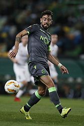 December 13, 2018 - Lisbon, Portugal - Bruno Fernandes of Sporting  in action  during UEFA Europa League football match between Sporting CP vs Vorskla, in Lisbon, on December 13, 2018. (Credit Image: © Carlos Palma/NurPhoto via ZUMA Press)