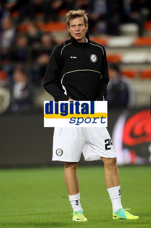 Fotball<br /> Østerrike<br /> Foto: Gepa/Digitalsport<br /> NORWAY ONLY<br /> <br /> 03.11.2011<br /> UEFA Europa League, Gruppenphase, RSC Anderlecht vs SK Sturm Graz<br /> <br /> Bild zeigt Roman Kienast (Sturm).