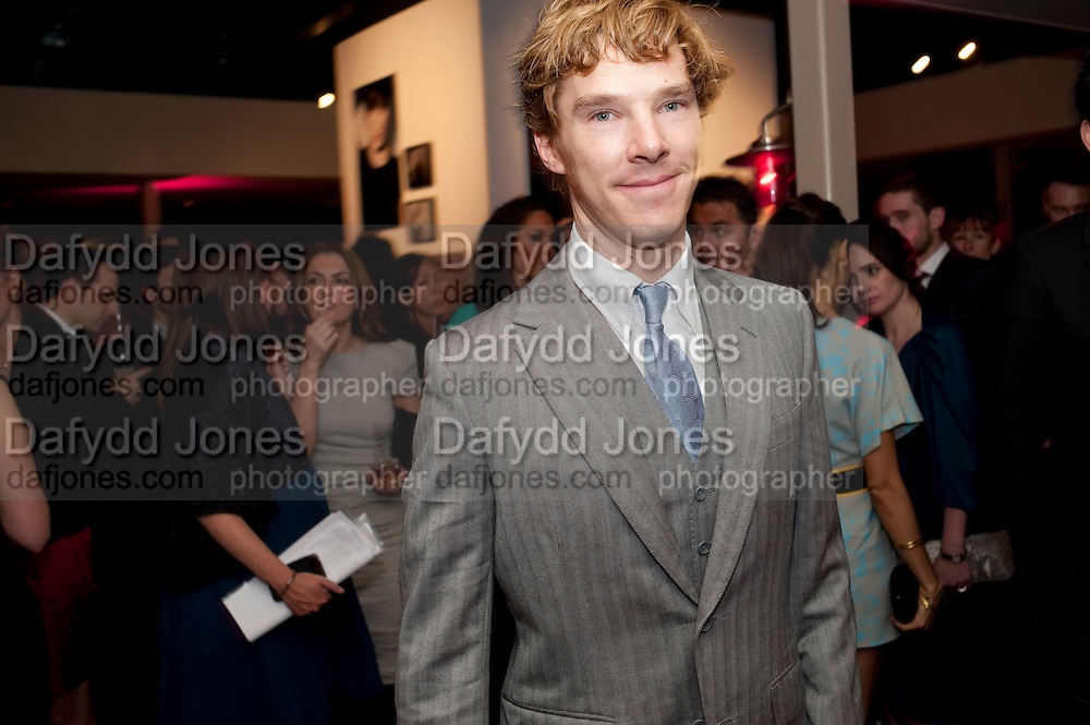 BENEDICT CUMBERBATCH, InStyle's Best Of British Talent Party in association with Lancome. Shoreditch HouseLondon. 25 January 2011, -DO NOT ARCHIVE-© Copyright Photograph by Dafydd Jones. 248 Clapham Rd. London SW9 0PZ. Tel 0207 820 0771. www.dafjones.com.