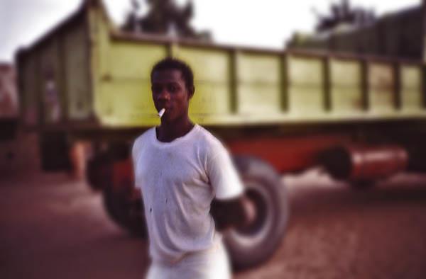 Young man in Ziguinchor (Senegal) - African Portraits Series