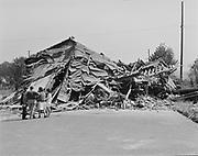 9119-2368-B20-9. Ahavai Achim Synagoge after being demolished August 23, 1962
