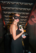 YANA DEMI Yelloween, the official launch of Buddha-Bar London, in association with Veuve Clicquot.. Knightsbridge, London. 31 October 2012