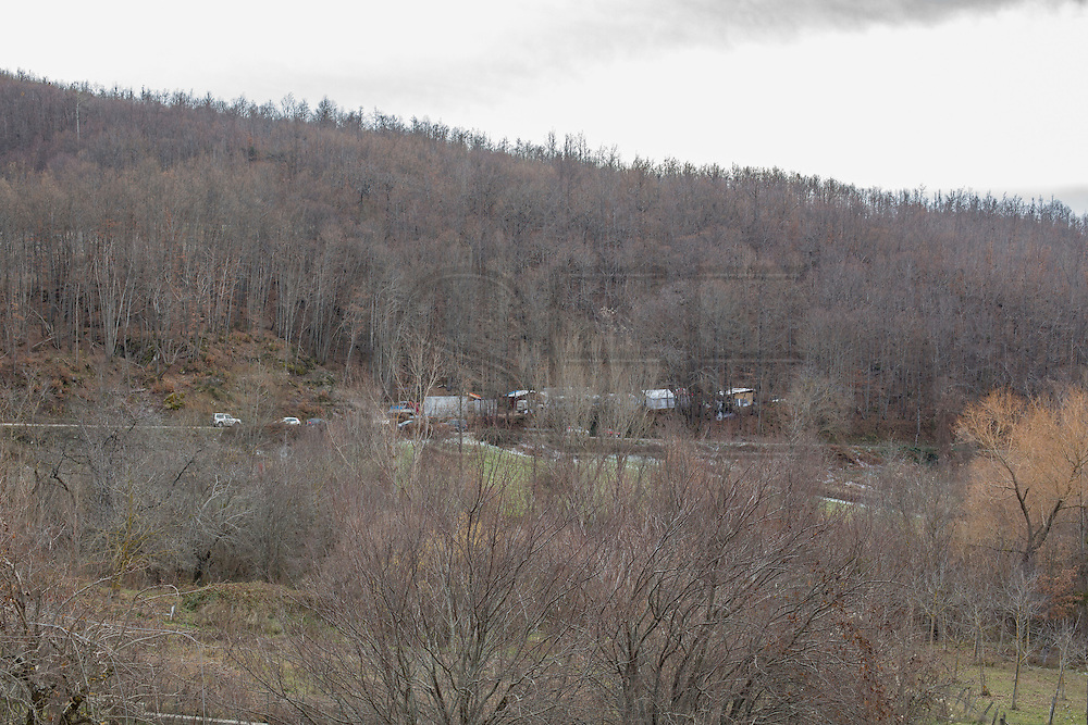 A small indipendent camp in the countryside near Arquata del Tronto.