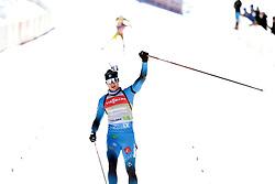 14.02.2021, Center Pokljuka, Pokljuka, SLO, IBU Weltmeisterschaften Biathlon, Sprint, Herren, im Bild jacquelin (emilien) (fra) // during mens Sprint competition of IBU Biathlon World Championships at the Center Pokljuka in Pokljuka, Slovenia on 2021/02/14. EXPA Pictures © 2021, PhotoCredit: EXPA/ Pressesports/ Frederic Mons<br /> <br /> *****ATTENTION - for AUT, SLO, CRO, SRB, BIH, MAZ, POL only*****