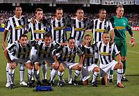 Fotball<br /> Italia<br /> Foto: Inside/Digitalsport<br /> NORWAY ONLY<br /> <br /> Lagbilde Juventus<br /> zebina, marchisio, le grottaglie, trezeguet, felipe melo, manninger<br /> in basso da sinistra molinaro, del piero, camoranesi, giovinco, cannavaro<br /> <br /> 07.08.2009<br /> juventus v villareal 1-4