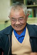 Old Men in Jaingnan Ancient River Town, Shanghai - China