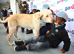 South Africa -Cape Town - 16 September 2020 - The group of boys from Philippi are being hailed heroes for saving Champ the dog who they had found lying in bushes last week.The boys were awarded by the Animal Welfare and some retail stores also gave the a shopping vouchers.The boys are Zubenathi Bikhwe 7,Luniko Mqombeni 9,Onke Mantambo 9,Agcobile Msutu, 9,Sibabalo Mphithizeli, 10 . Picture:Phando Jikelo/African News Agency(ANA)