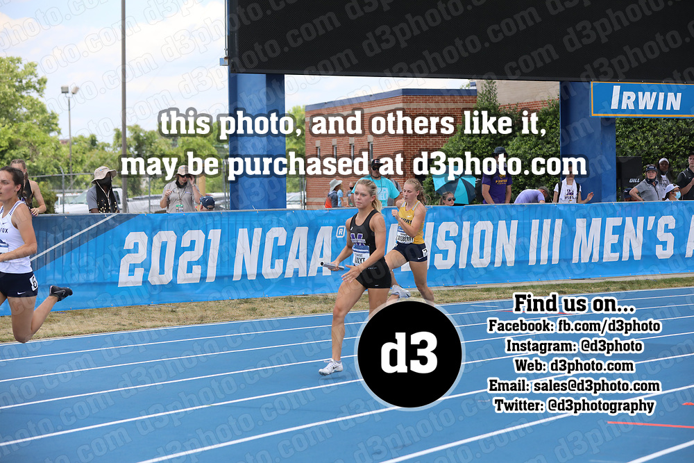 2021 NCAA Division III Outdoor Track and Field Championships 2021 NCAA OTF - Event 21 - Women 4x100