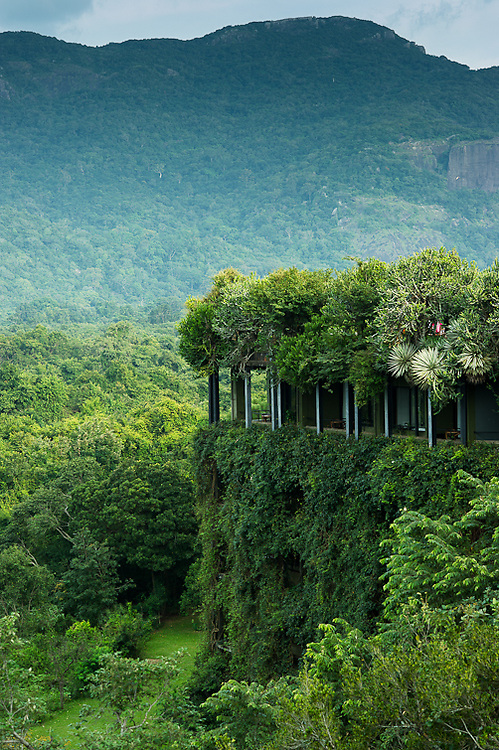 Kandalama Heritance Hotel, Dambulla, Sri Lanka.