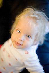 07.10.2011, Graz, AUT, Feature, im Bild ein kleines Mädchen blickt frech in die Kamera, EXPA Pictures © 2012, PhotoCredit: EXPA/ Erwin Scheriau
