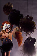 Masks for performance of  Antigone, Asolo Repertory Theater, Sarasota, FL