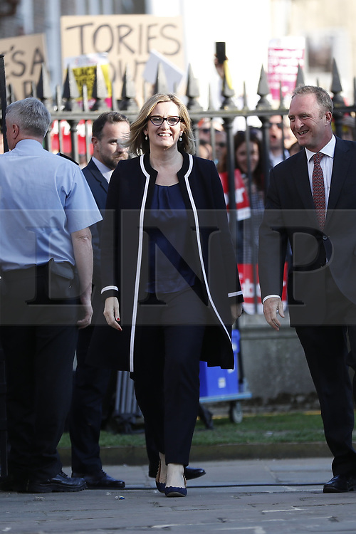 © Licensed to London News Pictures. 31/05/2017. Cambridge, UK.  Arrivals at Senate House in Cambridge ahead of a leaders debate on BBC one. Recent polls have show a closing in the gap between the Labour Party and Conservative Party, in what was expected to be a landslide general election victory for the Conservatives. Photo credit: Peter Macdiarmid/LNP
