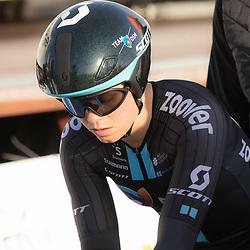 11-03-2021: Wielrennen: Healthy Ageing Tour: Lauwersoog. <br />Susanne Andersen