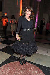 FRANCES RUFFELLE at the 50th birthday party for Jonathan Shalit held at the V&A Museum, London on 17th April 2012.