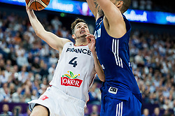 Thomas Heurtel of France during basketball match between National Teams of France and Finland at Day 1 of the FIBA EuroBasket 2017 at Hartwall Arena in Helsinki, Finland on August 31, 2017. Photo by Vid Ponikvar / Sportida