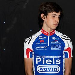 19-02-2016: Wielrennen: Teampresentatie Cyclingteam Jo Piels: Venray  <br />VENRAY (NED) wielrennen<br />In de Witte Hoeve in Venray werd het cyclingteam Jo Piels gepresenteerd. De ploeg was in 2015 een van de uitblinkers in de topcompetitie. Gijs Verdick (Laren) is een van de nieuwe renners in de ploeg