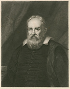 'Galileo Galilei (1564-1642) Italian physicist, astronomer, mathematician, and major figure in the ScientificRevolution.  His use of the telescope for astronomical observation supported the heliocentric system.'