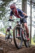 Nolan Jenkins (USA) at the 2018 UCI MTB World Championships - Lenzerheide, Switzerland