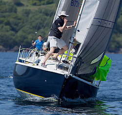 Sailing - SCOTLAND  - 25th-28th May 2018<br /> <br /> The Scottish Series 2018, organised by the  Clyde Cruising Club, <br /> <br /> First days racing on Loch Fyne.<br /> <br /> GBR8011N, Old School, MacNish/Galbraith/Chas, RGYC<br /> <br /> Credit : Marc Turner<br /> <br /> <br /> Event is supported by Helly Hansen, Luddon, Silvers Marine, Tunnocks, Hempel and Argyll & Bute Council along with Bowmore, The Botanist and The Botanist