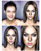 """EXCLUSIVE <br /> Watch as incredible  make up artist Paolo Ballesteros  transforms himself into  Duchess of Cambridge, Kate Middleton <br /> <br /> Paolo Ballesteros transform from one person to another, pop singers to fictional characters.<br /> <br /> In his latest make-up transformation, Paolo brought us royalty as he turned into the Duchess of Cambridge, Kate Middleton.<br /> <br /> he transformation artist took these amazing imagesand a fast-track video of himself while he turned from Paolo to Kate <br /> <br /> This is the first time Ballesteros showed the entire process of his transformation.<br /> <br /> While he had shared his technique before, the video proved that it is easier heard than done. At least now, aspiring make-up artists can watch and learn from pro himself.<br /> <br /> Paolo has also has transformed into """"Tyra Banks""""<br /> ©Exclusivepix Media"""