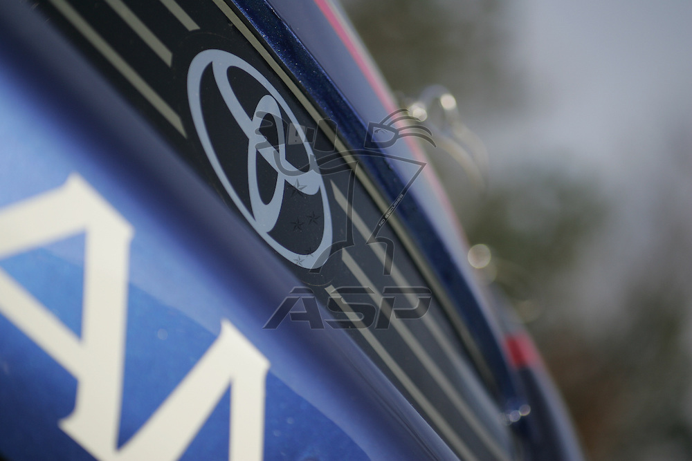 High Point, NC - Jan 21, 2006:  The 2007 Red Bull Toyota Camry are photographed at  in High Point, NC.