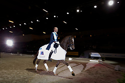 Minderhoud Hans Peter, NED, Glock's Flirt<br /> Indoor Brabant - Den Bosch 2017<br /> © Hippo Foto - Dirk Caremans<br /> 11/03/2017