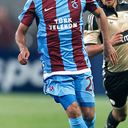 Trabzonspor's Gustavo COLMAN during their UEFA Champions League third qualifying round, second leg, soccer match Trabzonspor between Benfica at the Ataturk Olimpiyat Stadium at İstanbul Turkey on Wednesday, 03 August 2011. Photo by TURKPIX