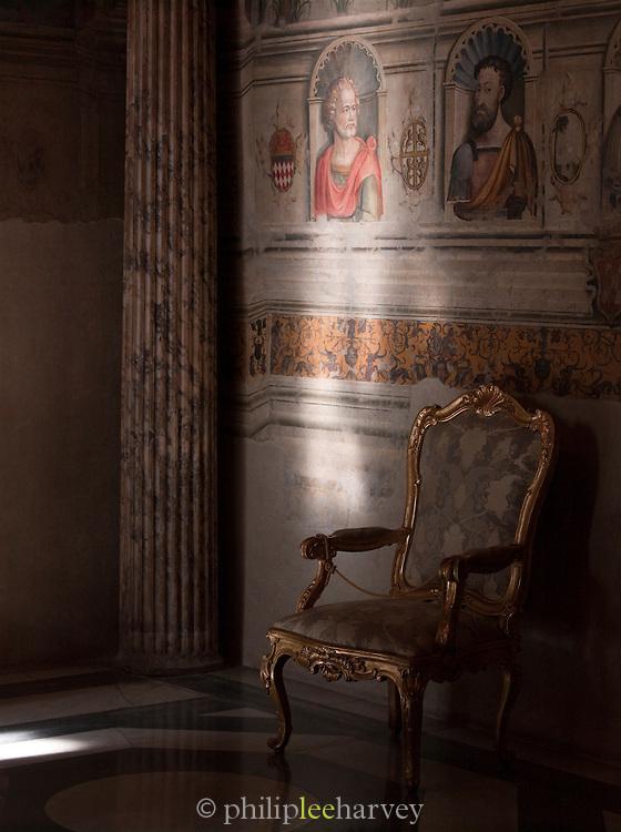 Interior of the Capitoline Museum, Rome, Italy