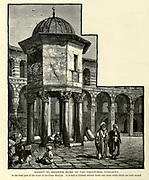 Kubbet el Khazneh (Dome of the Treasures), Damascus, Syria Engraving on Wood from Picturesque Palestine, Sinai and Egypt by Wilson, Charles William, Sir, 1836-1905; Lane-Poole, Stanley, 1854-1931 Volume 2. Published in New York by D. Appleton in 1881-1884