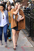Oct. 12, 2015 - New York City, NY, USA - <br /> Actress Hilary Duff was on the set of the TV show 'Younger' <br /> ©Exclusivepix Media