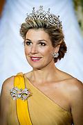 Staatsbezoek aan Luxemburg dag 1 / State visit to Luxembourg day 1<br /> <br /> Op de foto / On the photo: Fotomoment in de Salon des Rois. met koningin Maxima / Photo with  Queen Maxima  in the Salon des Rois.
