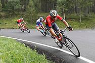 Vincenzo Nibali (ITA - Bahrain - Merida) during the 73th Edition of the 2018 Tour of Spain, Vuelta Espana 2018, 20th stage Andorra Escaldes Engordany - Coll de la Gallina 97.3 km on September 15, 2018 in Spain - Photo Luca Bettini / BettiniPhoto / ProSportsImages / DPPI